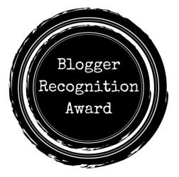 blogger recognition award - iamjmkayne.com