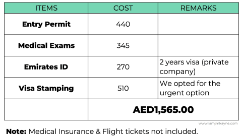Husband -Wife's visa application cost in Dubai - iamjmkayne.com.png