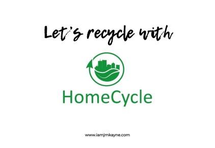 Recycle with HomeCycle Dubai - iamjmkayne.com