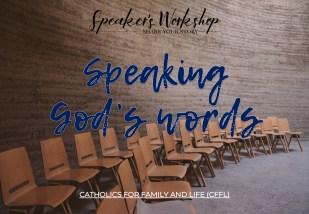 Speaking Gods Words - Speakers Workshop Free Online Course