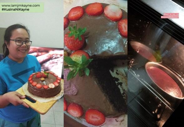 Kusina ni Kayne - chocolate cake