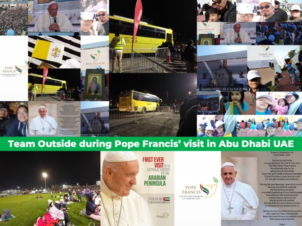 POpe Francis in the UAE - iamjmkayne.com