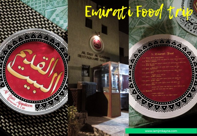 Emirati Food in iamjmkayne