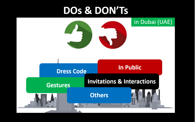 Dos and Don'ts in Dubai UAE - iamjmkayne.com