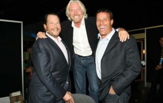 Entrepreneur friend Dreamforce Tony Robbins and Richard Branson