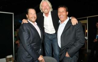Entrepreneur friend Dreamforce Tony Robbins and Richard Branson