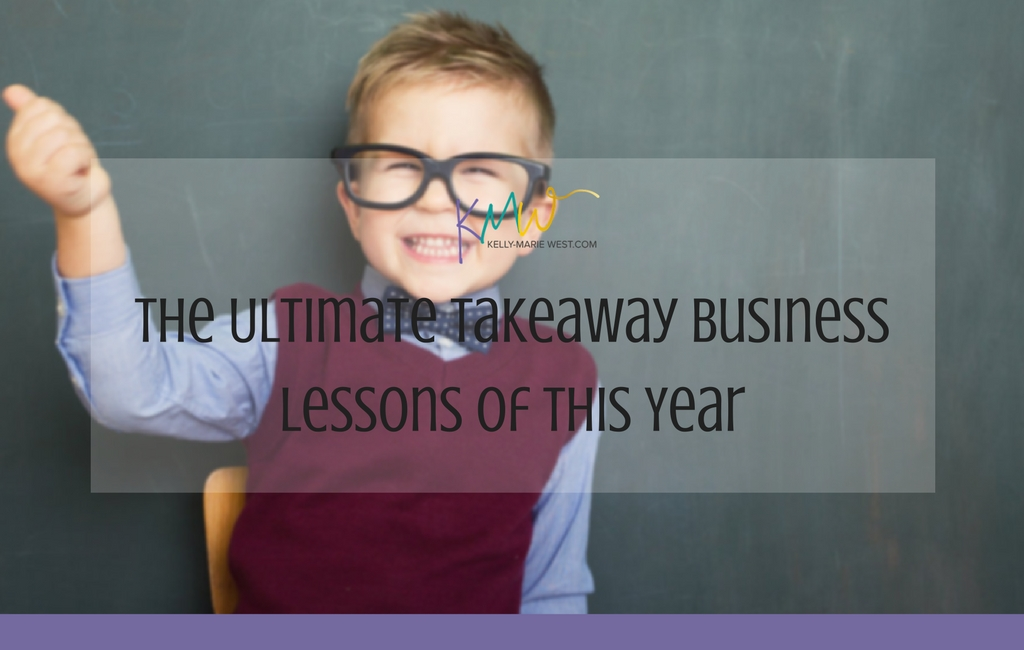 The Ultimate Takeaway Business Lessons of this Year