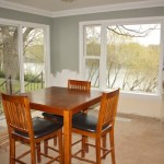 Transforming a Sun Room into a Dining Room