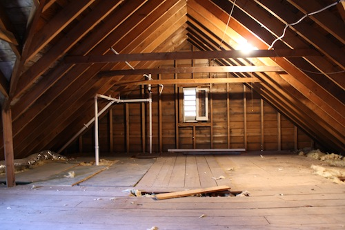 Insulating the Attic + Misc. Fall Projects & Insulating the Attic + Misc. Fall Projects - I Am Katie Jo