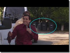 David Wallace's trash cans