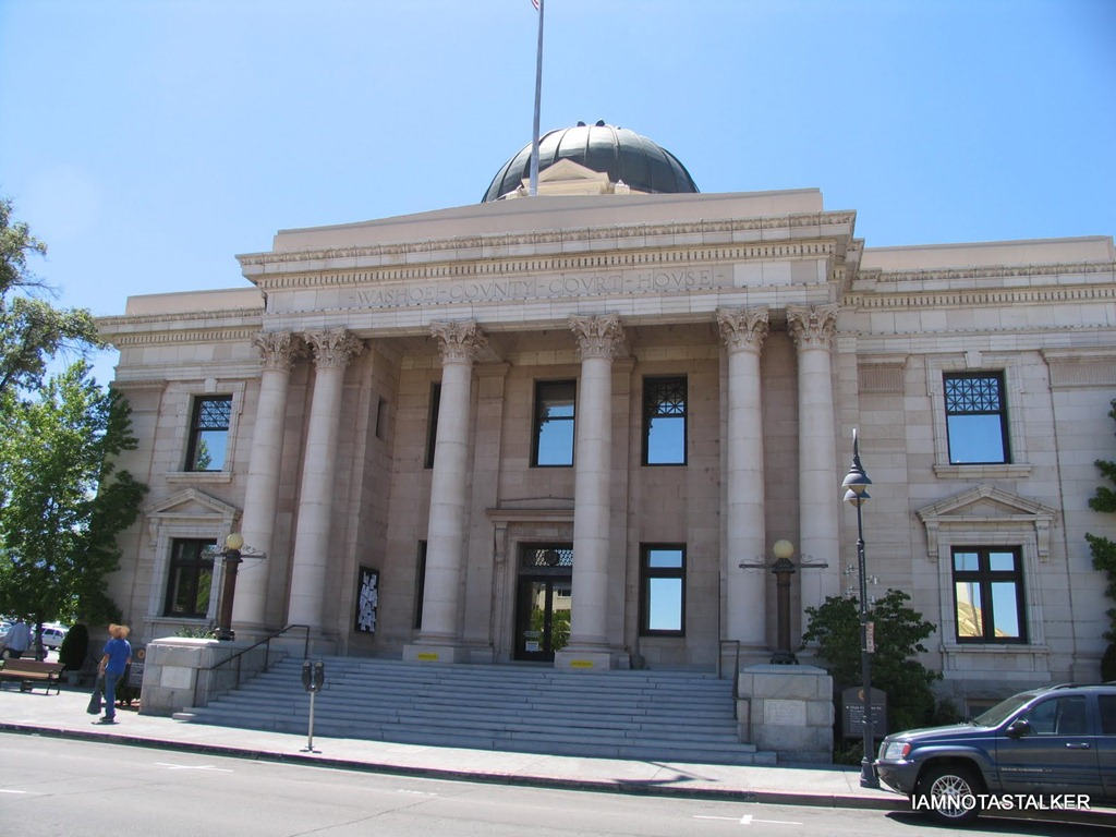 """The Washoe County Courthouse from """"The Misfits"""" - IAMNOTASTALKER"""
