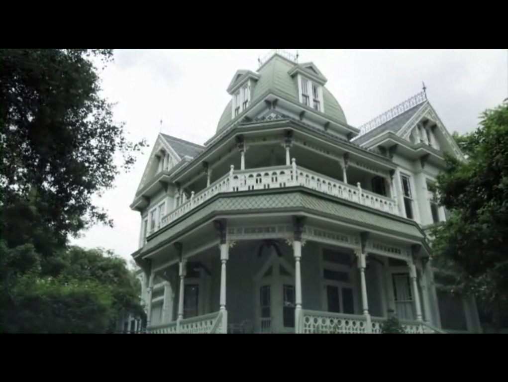 In A Haunting In Salem Mansion Adena Stood In For The Supposed Salem Oregon Area Haunted Abode That New Town Sheriff Wayne Downs Aka Bill Oberst Jr And