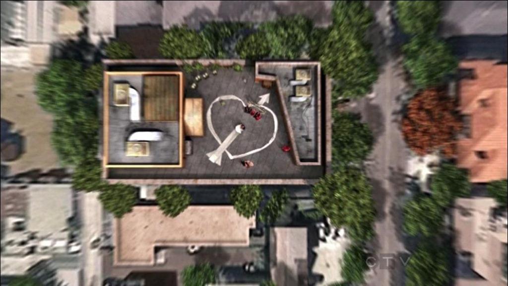 The Big Bang Theory Rooftop  Where Howard and