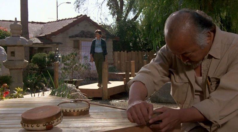 "Mr Miyagi Backyard mr. miyagi's house from ""the karate kid"" | iamnotastalker"