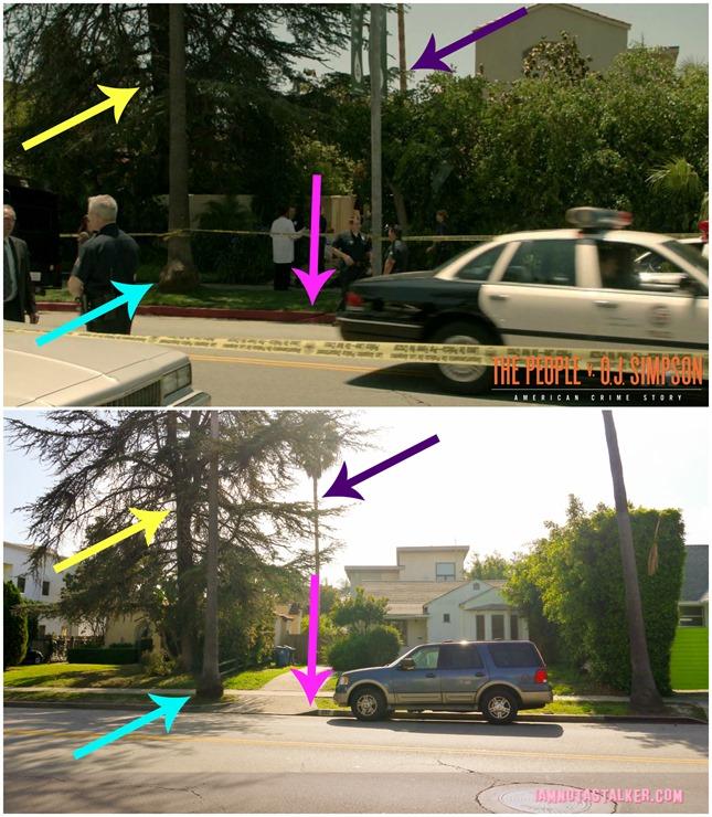 People v. O.J. Simpson Nicole's Walkway 3