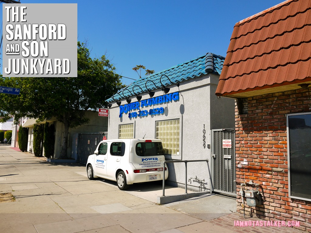 """The Site of Sanford and Son Salvage from """"Sanford and Son"""