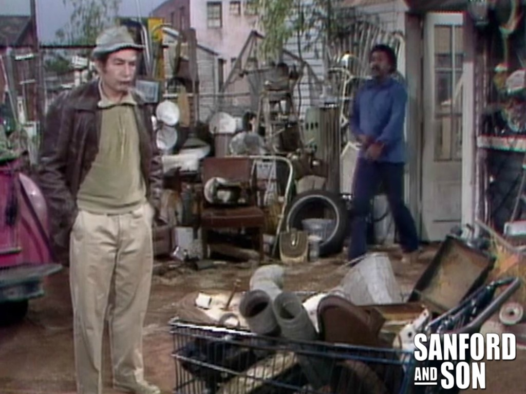 The Site of Sanford and Son Salvage from Sanford and Son
