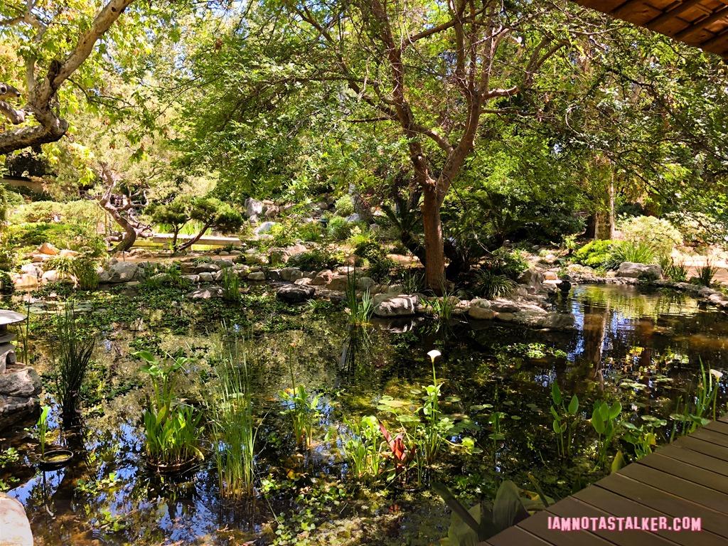 Storrier Stearns Japanese Garden from \