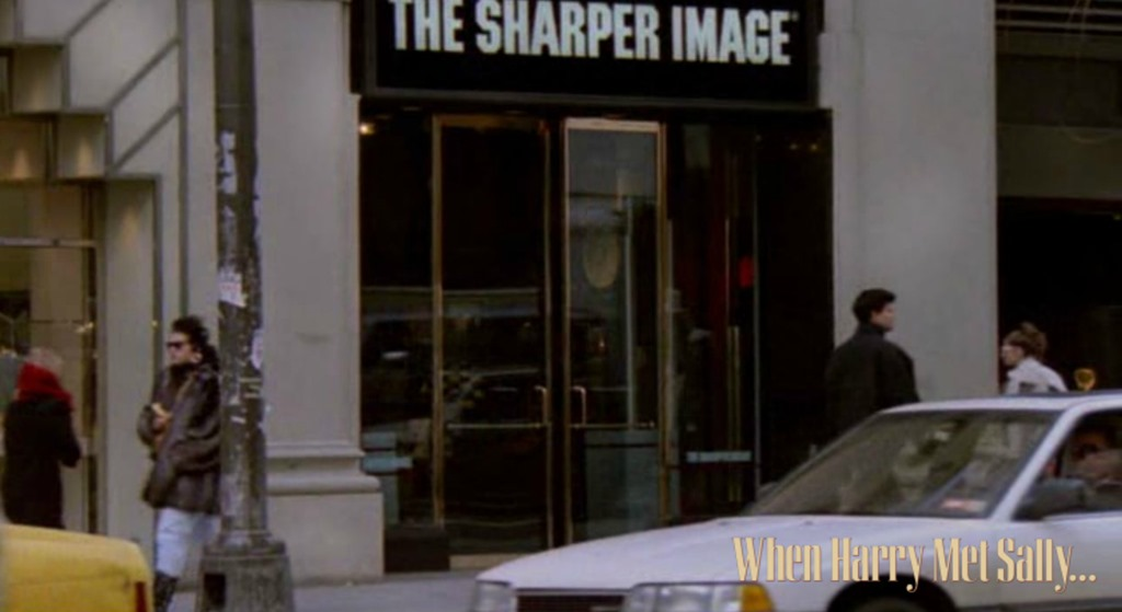 The Sharper Image From When Harry Met Sally Iamnotastalker