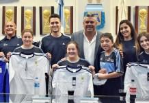 AFA le dio pasajes y ropa al seleccionado femenino de fútbol inclusivo