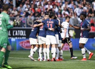 Gol de Ángel Di María para PSG