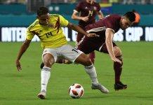 Luis Muriel palpitó el debut de Colombia ante Argentina