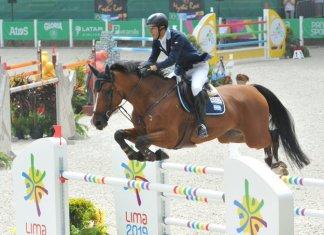 José María Larocca ganó la plata en equitación