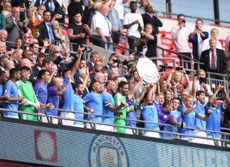 Manchester City campeón de la Community Shield