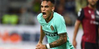 Gol de Lautaro Martínez para Inter