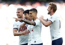 Erik Lamela marcó para Tottenham