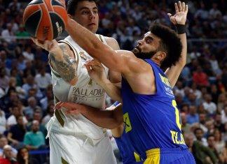 Real Madrid venció a Maccabi