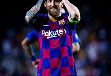 Lionel Messi habló tras la victoria de Barcelona