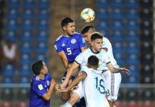 Argentina perdió con Paraguay