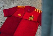 Nueva camiseta de España