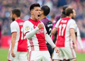 Lisandro Martínez marcó para Ajax
