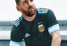 Nueva camiseta de Argentina