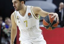 Facundo Campazzo brilló en Real Madrid