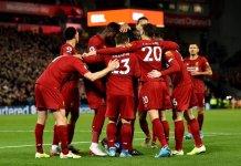 Liverpool goleó a Everton