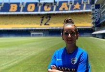 María Vásconez jugará en Boca