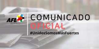 Comunicado AFE