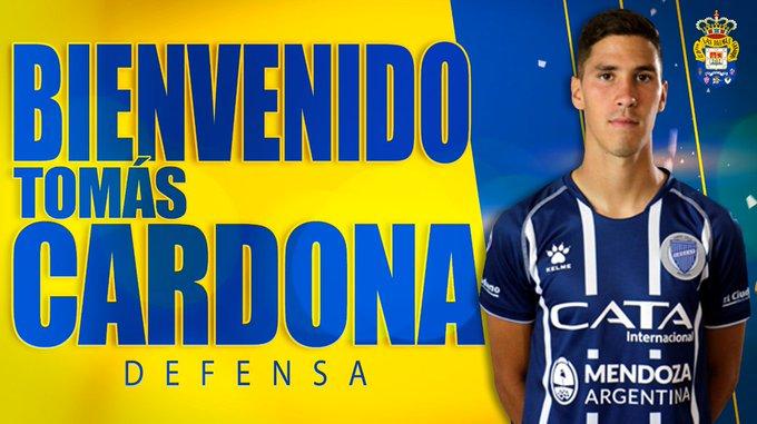 Tomás Cardona presentado en Las Palmas