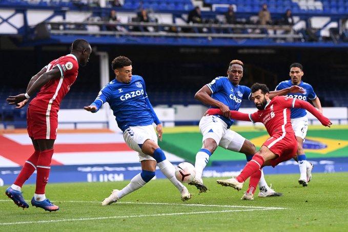 Everton empató con Liverpool
