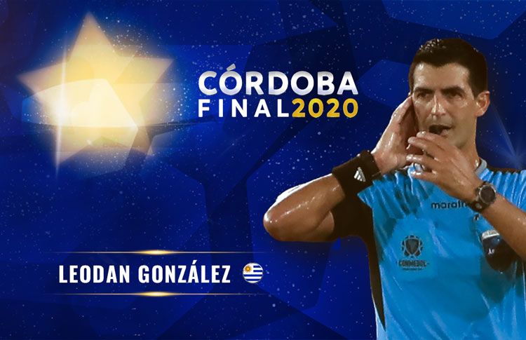 ´Leodán González dirigirá la final de la Copa Sudamericana