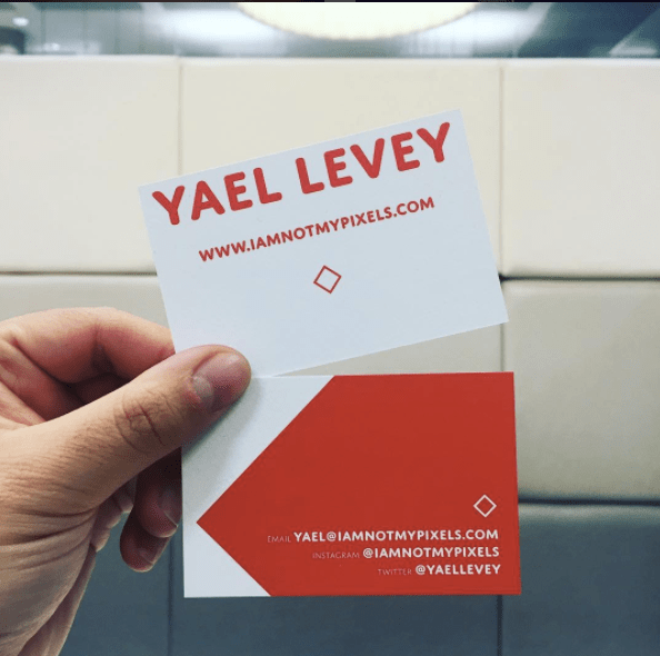 Yael Levey business cards