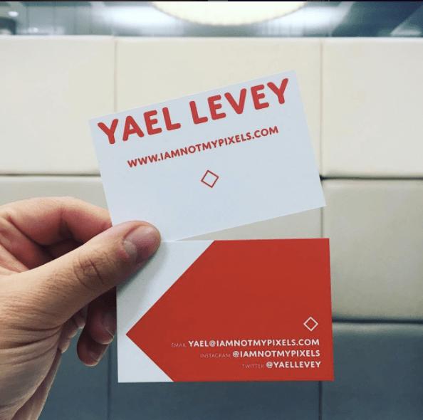 Yael Levey business cards