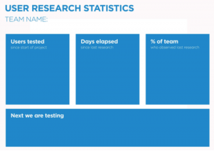 My User Research Dashboard