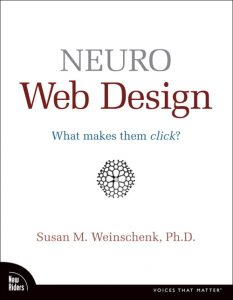Book: Neuro web design: what makes them click?
