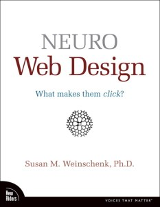 Book: Neuro web design: what makes them click?