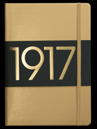 Leughtterm 1917 metallic edition notebook