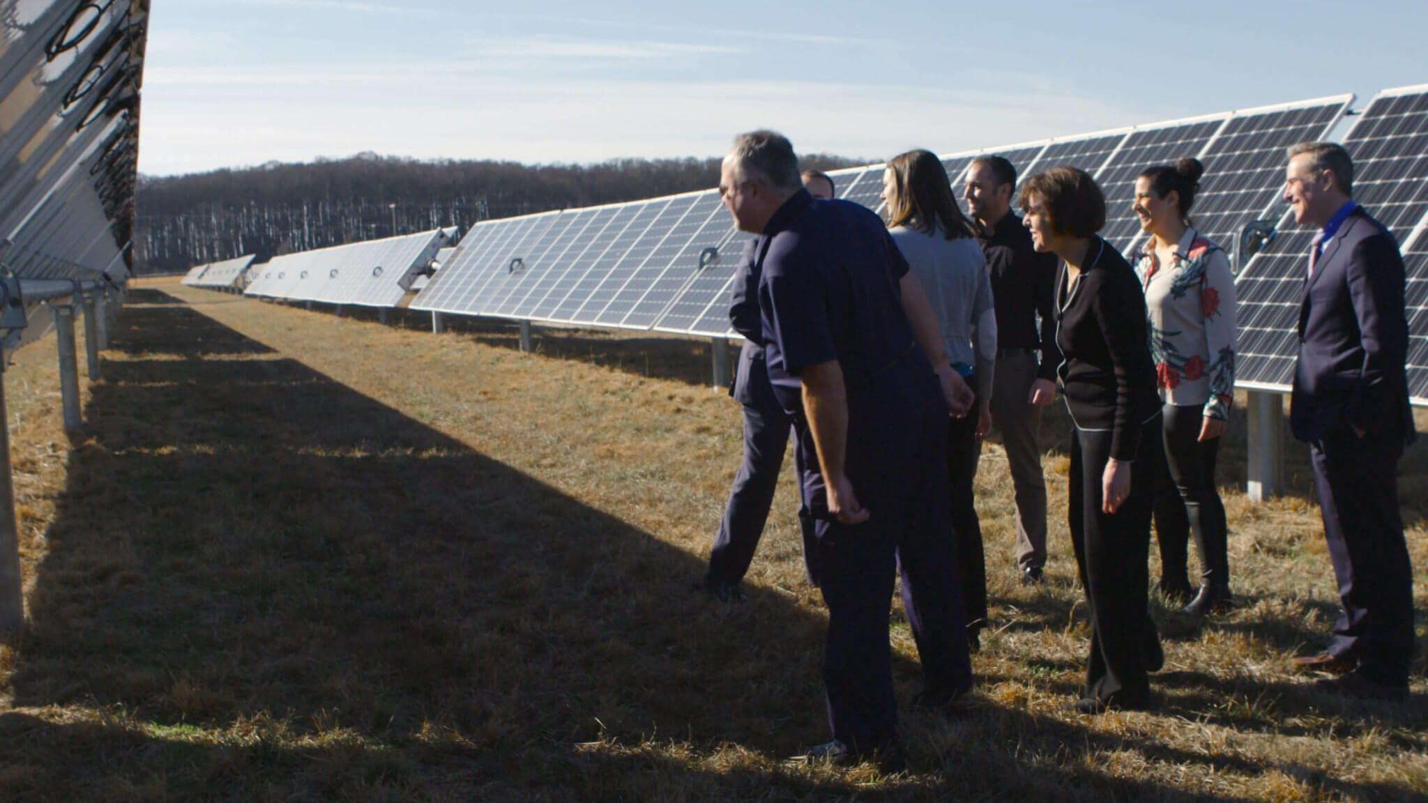 L'Oreal solar panel